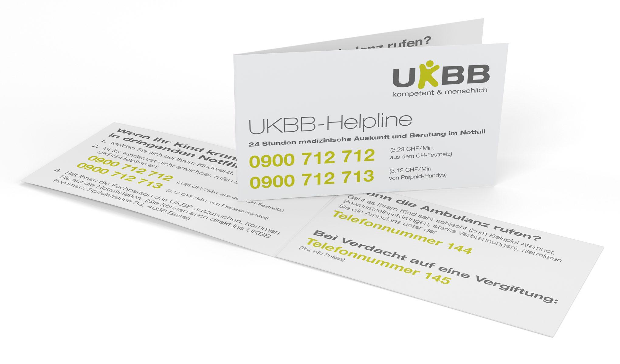 UKBB-Notfallkarte